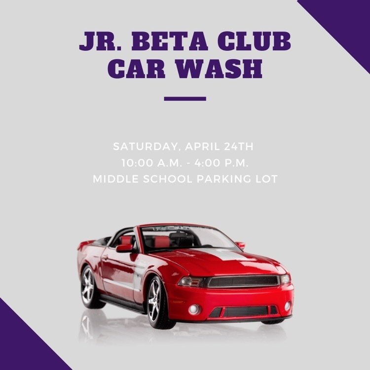 Jr. Beta Club Car Wash