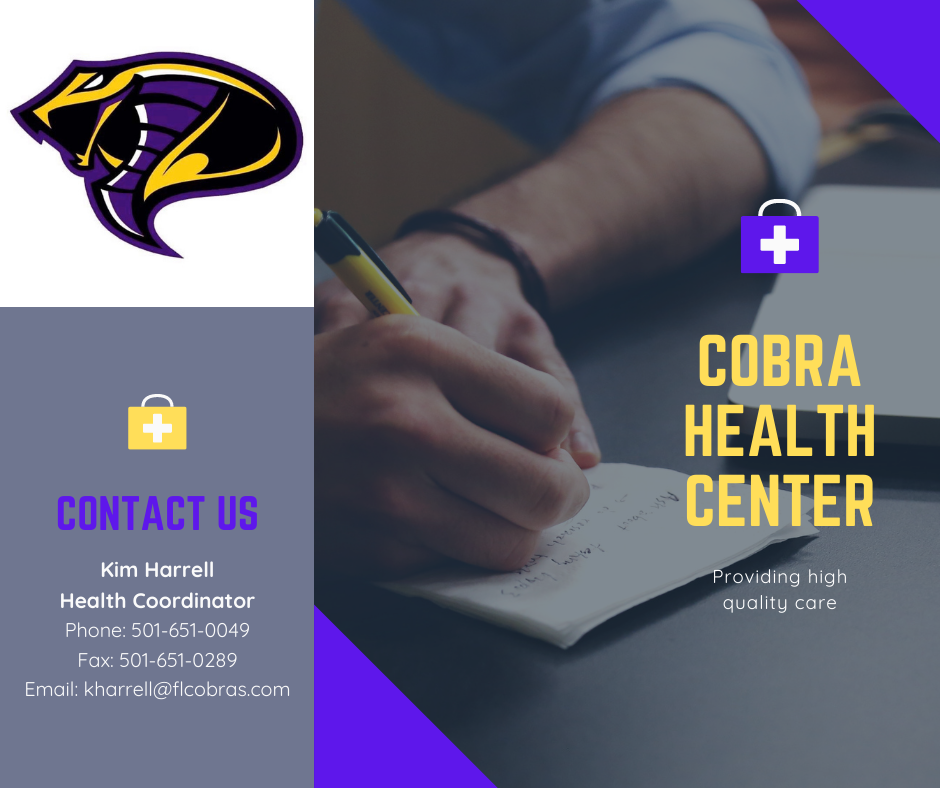 Welcome to our Cobra Health Center page!