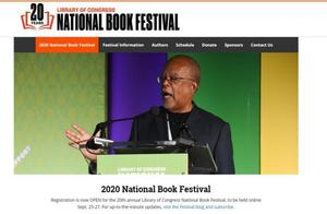 2020 National Book Festival Coming Soon!