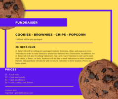 Jr. Beta Club Fundraiser
