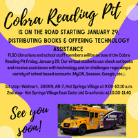 Cobra Reading Pit