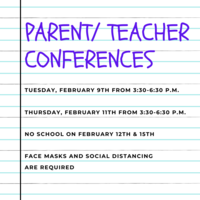 Parent/ Teacher Conferences | No School