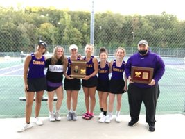 Lady Cobras Win the 7-4A District Tennis Championship!