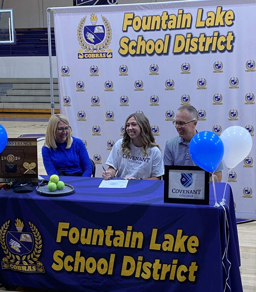 Congratulations to Jordan Lancaster for signing to play tennis at Covenant College in Georgia.